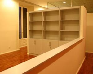 Mueble librería para recepción