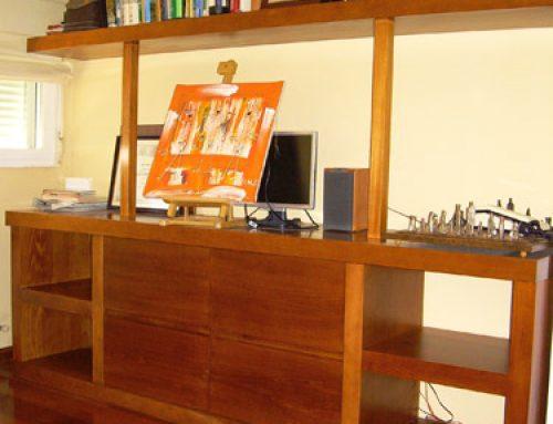 Diseño y fabricación de mueble para salón.