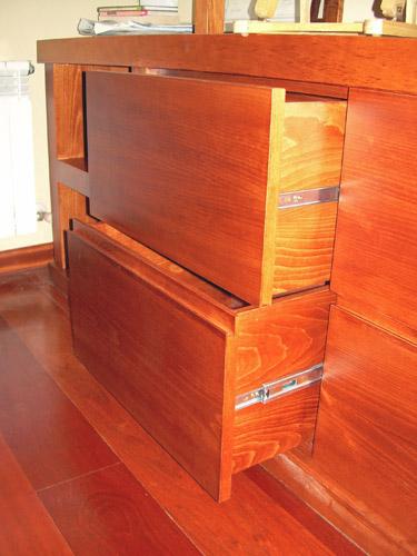 Cajones de mueble