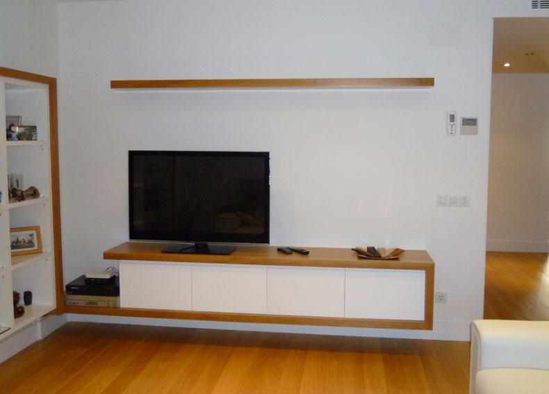 Mueble para tv con balda for Balda muebles