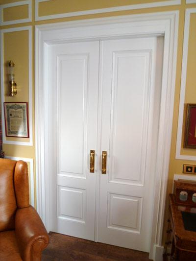 Puerta doble de salon
