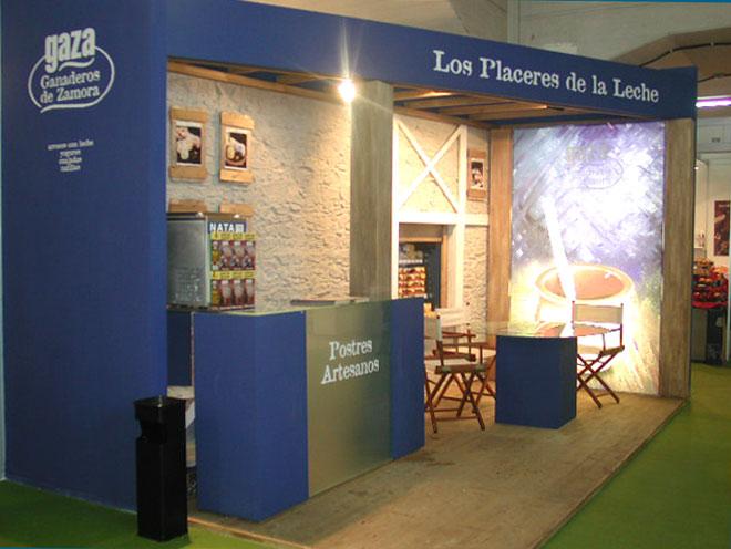 Diseño y realización de stand para feria Expo Gourmet1