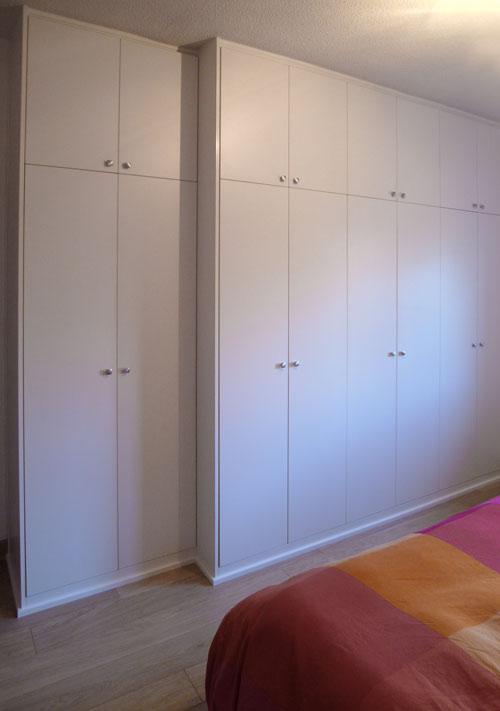 Frentes de armarios habitaciones