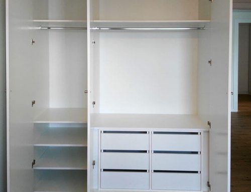 Interiores de armarios a medida