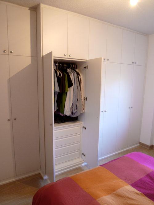 Fabricación de armarios en Madrid