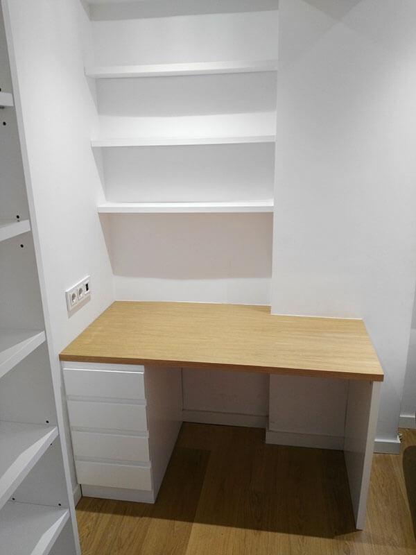 Muebles a medida para habitaciones juveniles