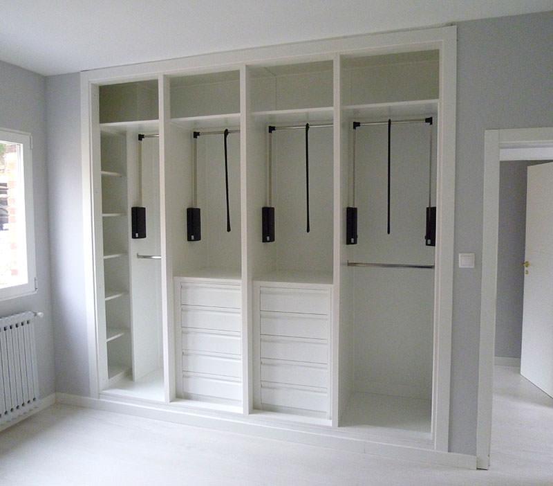 frentes e interiores de armarios a medida ebanisteria