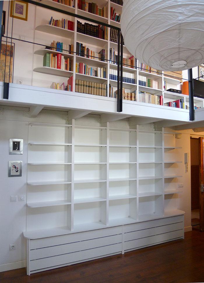 Libreria a medida en Madrid