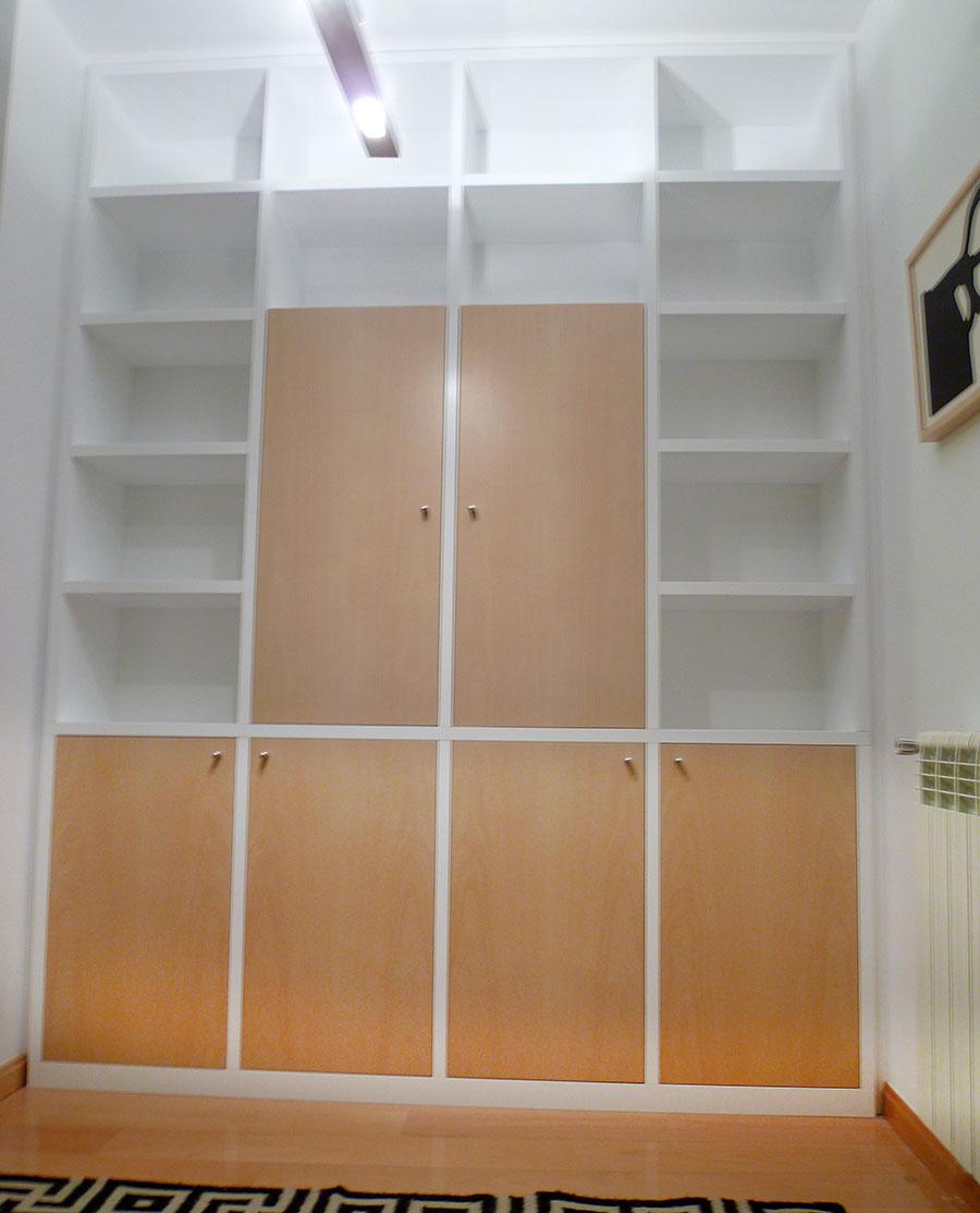 Librer a a medida color haya ebanister a manuel kuperman - Librerias a medida ...
