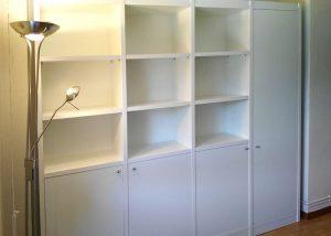 Librería con armario