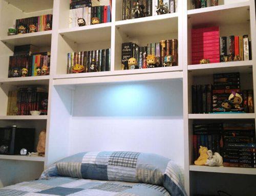 Librería para dormitorio juvenil