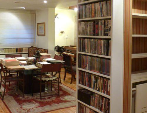 Librería a medida para vivienda particular en Madrid