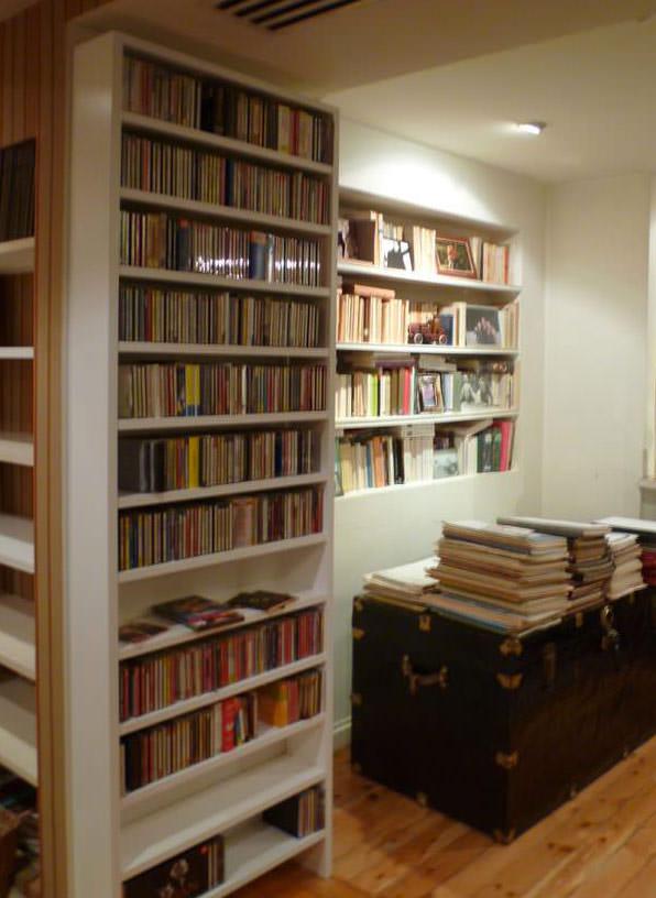 Librerías y estanterías a medida