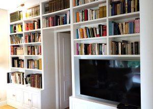 Libreria con puertas
