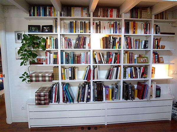 Librerias para viviendas archivos ebanisteria manuel for Librerias salon