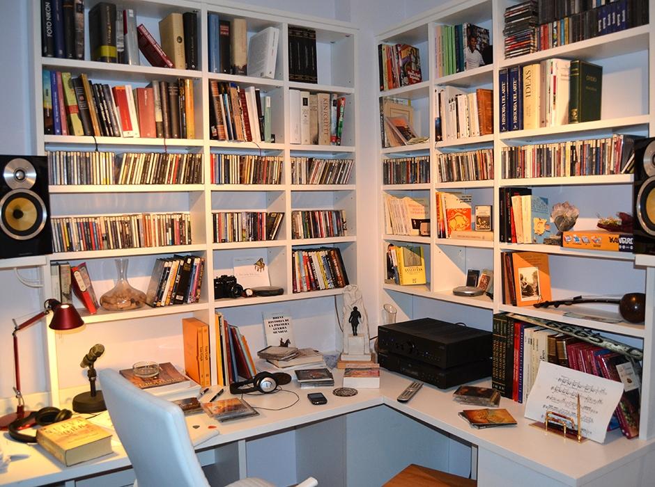 Ebanisterias y carpinterias en madrid muebles a medida - Librerias a medida en madrid ...