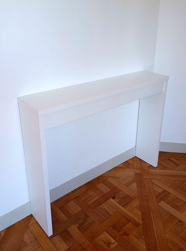 Mesa para recibidor