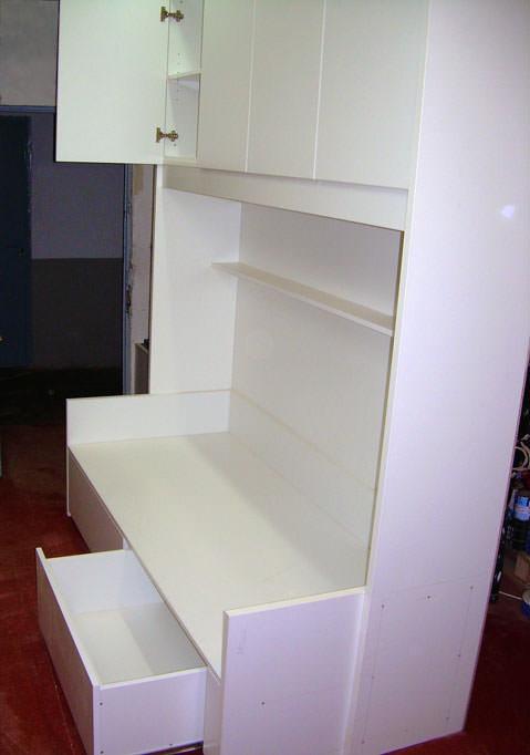 Mobiliario dormitorio oficina