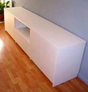 Diseño y fabricación de mueble bajo