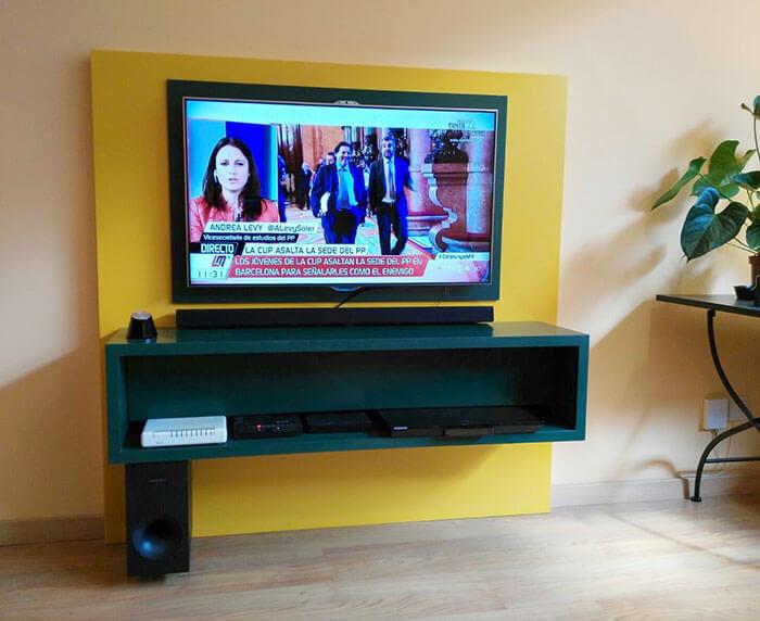 Mueble bajo a medida para tv