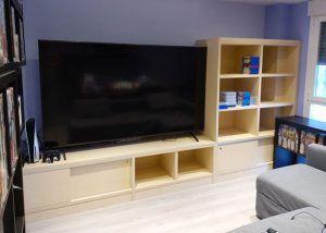Mueble Tv con puertas correderas