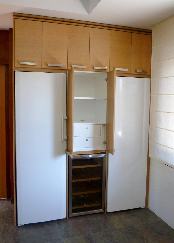 Mueble para alojar frigorífico